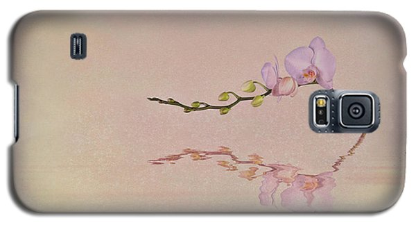 Orchid Galaxy S5 Case - Orchid Blooms And Buds by Tom Mc Nemar