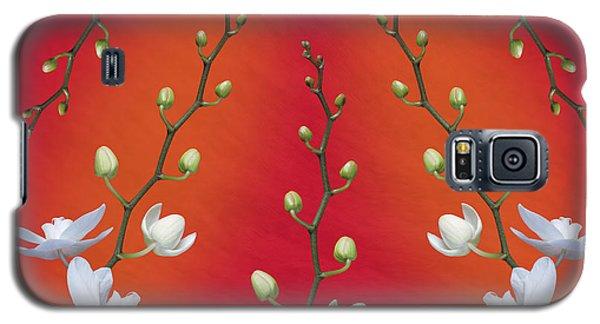 Orchid Galaxy S5 Case - Orchid Ensemble by Tom Mc Nemar