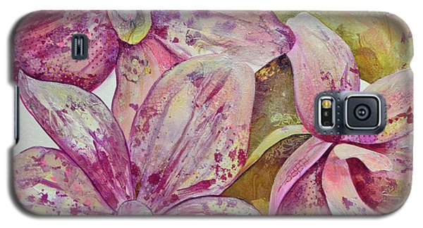 Orchid Galaxy S5 Case - Orchid Envy by Shadia Derbyshire