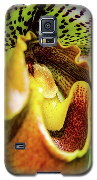 Orchid Faces Galaxy S5 Case