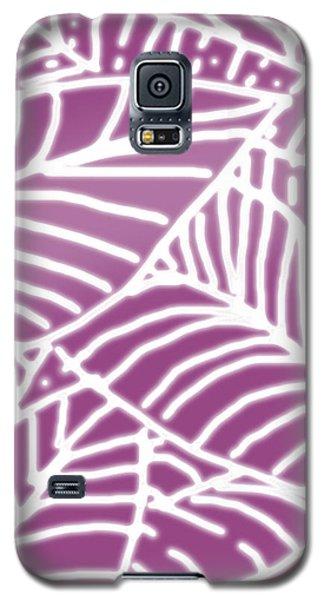 Orchid Leaves Batik Galaxy S5 Case