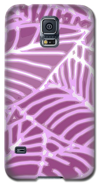 Orchid Leaves Cutout Galaxy S5 Case