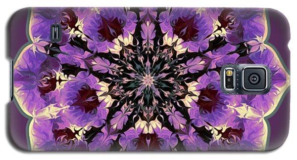 Orchid Lotus Galaxy S5 Case