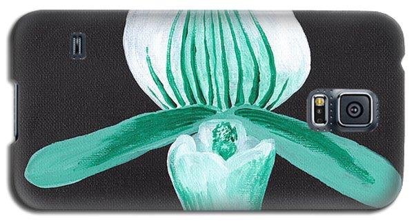 Orchid-paphiopedilum Bob Nagel Galaxy S5 Case