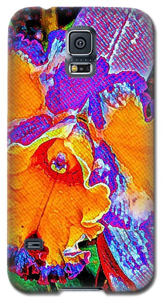 Orchid Psychedelic Galaxy S5 Case