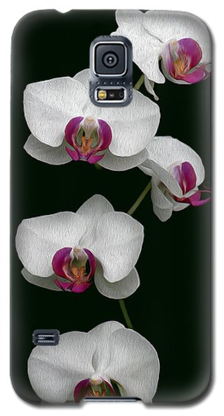 Orchid Sequence  Galaxy S5 Case