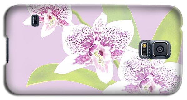 Orchid Trio - Lavender Galaxy S5 Case