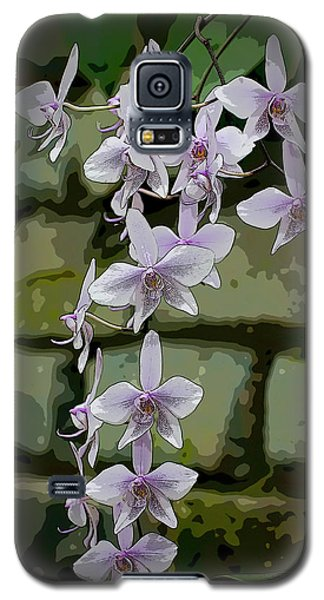 Orchid Waterfall Galaxy S5 Case