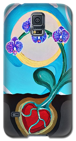 Orchids For My Love Galaxy S5 Case