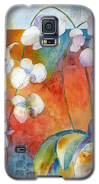 Orchids In Bend Galaxy S5 Case by Pat Katz