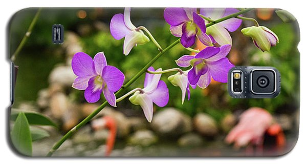 Orchids In Paradise Galaxy S5 Case