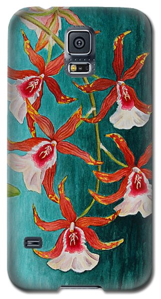 Orchids - Volcano Queen Galaxy S5 Case
