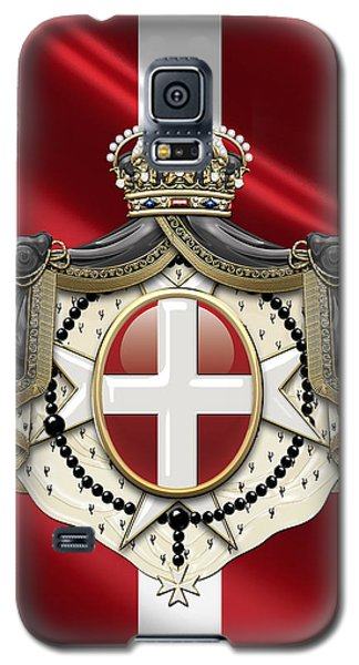 Order Of Malta Coat Of Arms Over Flag Galaxy S5 Case