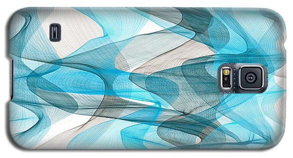 Orderly Blues And Grays Galaxy S5 Case