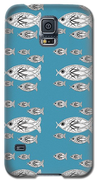 Orderly Formation - School Of Fish Galaxy S5 Case