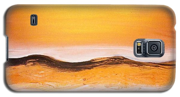 Galaxy S5 Case featuring the painting Orders To The Morning by Winsome Gunning