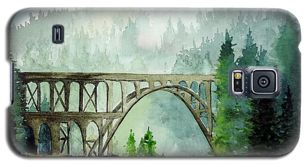 Galaxy S5 Case featuring the painting Oregon Beauty by Tom Riggs