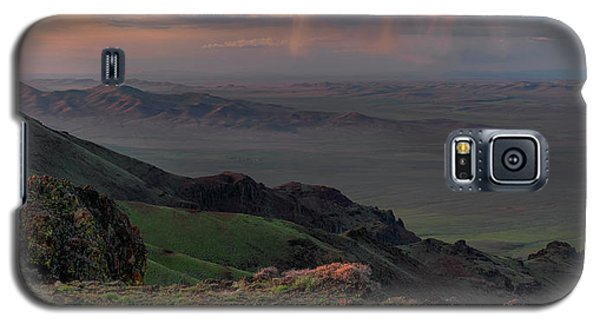 Galaxy S5 Case featuring the photograph Oregon Canyon Mountain Views by Leland D Howard