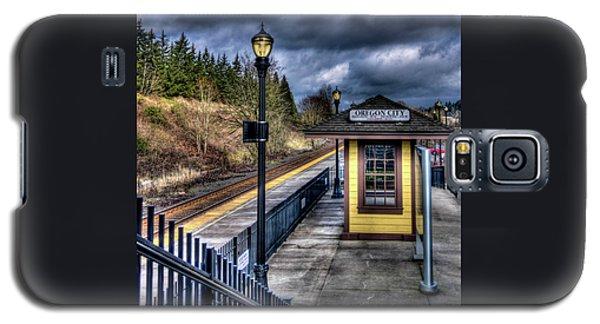 Oregon City Train Depot Galaxy S5 Case by Thom Zehrfeld
