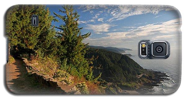 Galaxy S5 Case featuring the photograph Oregon Coast Cape Perpetua View by Lara Ellis