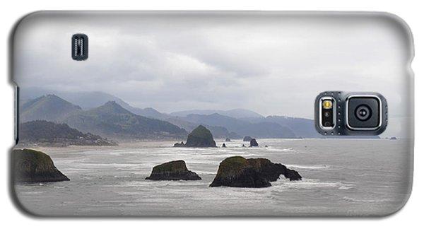 Oregon Coast Mountain Clouds Landscape Galaxy S5 Case by Andrea Hazel Ihlefeld