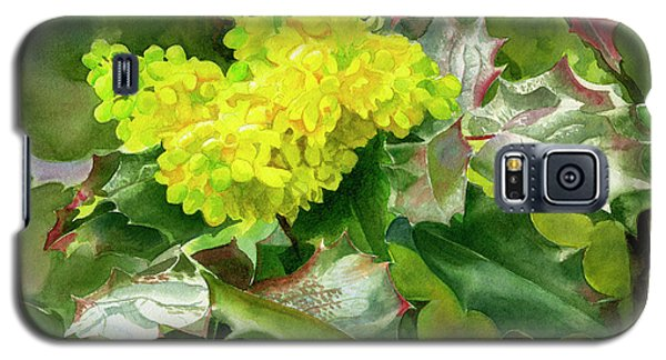 Oregon Grape Blossoms With Leaves Galaxy S5 Case