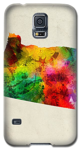 Oregon State Map 01 Galaxy S5 Case