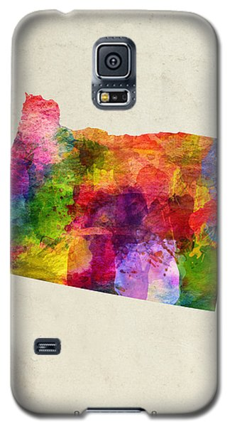 Oregon State Map 02 Galaxy S5 Case
