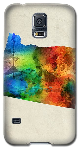 Oregon State Map 03 Galaxy S5 Case