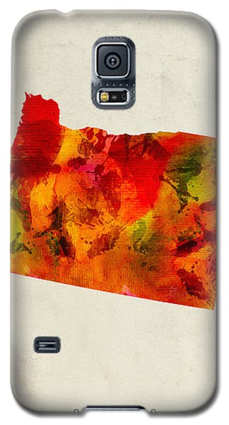 Oregon State Map 04 Galaxy S5 Case