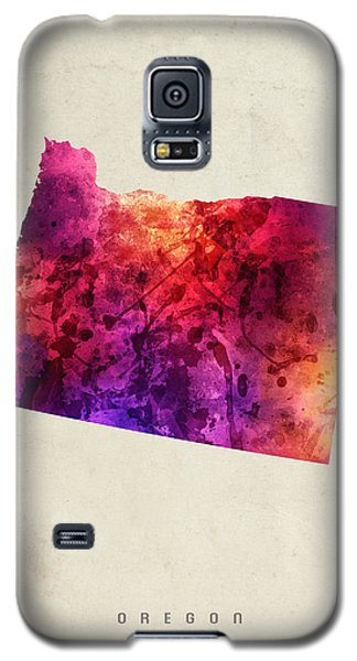 Oregon State Map 05 Galaxy S5 Case by Aged Pixel