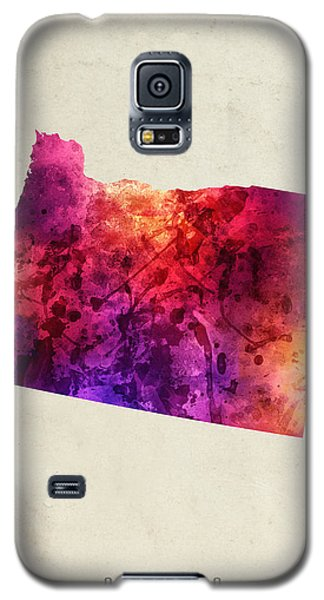 Oregon State Map 05 Galaxy S5 Case