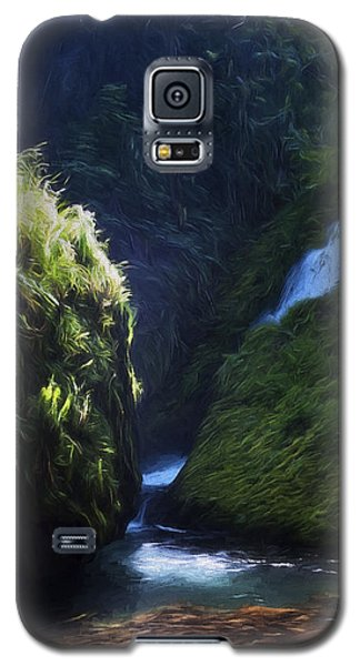 Oregon Waterfall Galaxy S5 Case