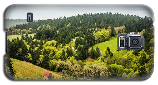Oregon Wine Country Galaxy S5 Case by TK Goforth