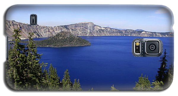 Oregons Crater Lake Galaxy S5 Case by Larry Keahey