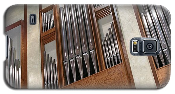 Galaxy S5 Case featuring the photograph Organ Pipes by Ann Horn