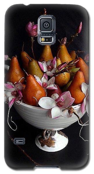 Organic Bosc Pears And Magnolia Blossoms Galaxy S5 Case