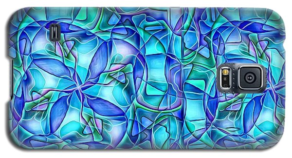 Galaxy S5 Case featuring the digital art Organic In Square by Ron Bissett