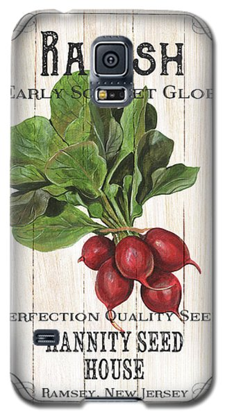 Galaxy S5 Case featuring the painting Organic Seed Packet 3 by Debbie DeWitt