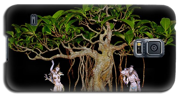 Oriental Bonsai Gods Galaxy S5 Case