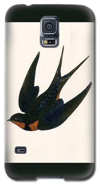 Oriental Chimney Swallow Galaxy S5 Case