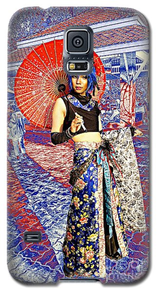 Oriental Cosplayer Galaxy S5 Case by Ian Gledhill