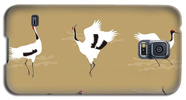 Oriental Cranes Galaxy S5 Case