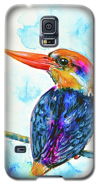 Oriental Dwarf Kingfisher Galaxy S5 Case by Zaira Dzhaubaeva