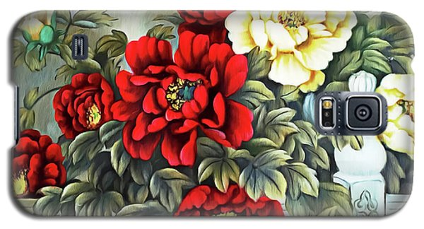 Galaxy S5 Case featuring the photograph Oriental Flowers by Munir Alawi
