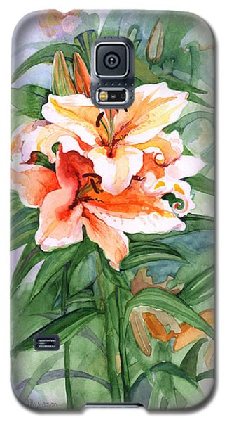 Oriental Lilies Galaxy S5 Case