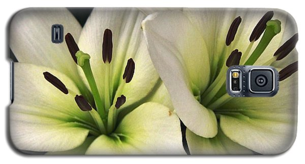 Galaxy S5 Case featuring the photograph Oriental Lily Named Endless Love by J McCombie