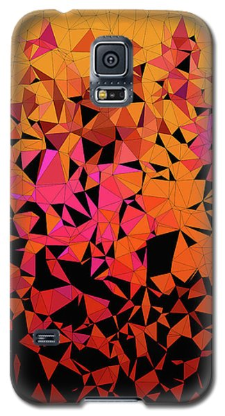 Origami Galaxy S5 Case by Susan Maxwell Schmidt