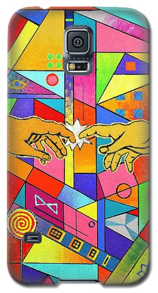 Origin Of Man Galaxy S5 Case by Jeremy Aiyadurai