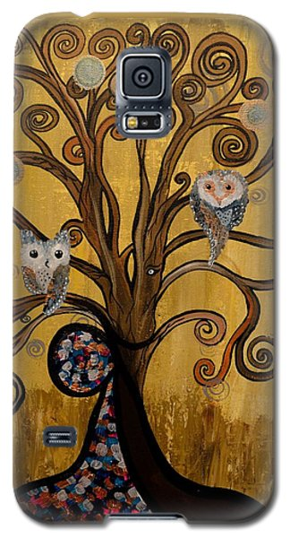 Original Acrylic Artwork By Mimi Stirn - Hoomasters Collection -hooklimt #414 Galaxy S5 Case